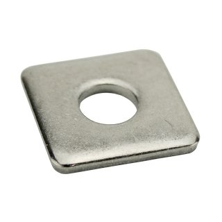 Square washers stainless steel DIN436 V2A A2 40X40X4 13,5 mm for M12 - rectangular washers square washers steel washers special washers stainless steel washers metal washers